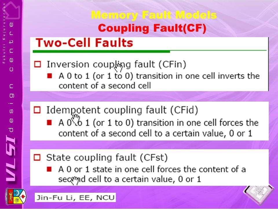 Coupling Fault(CF)
