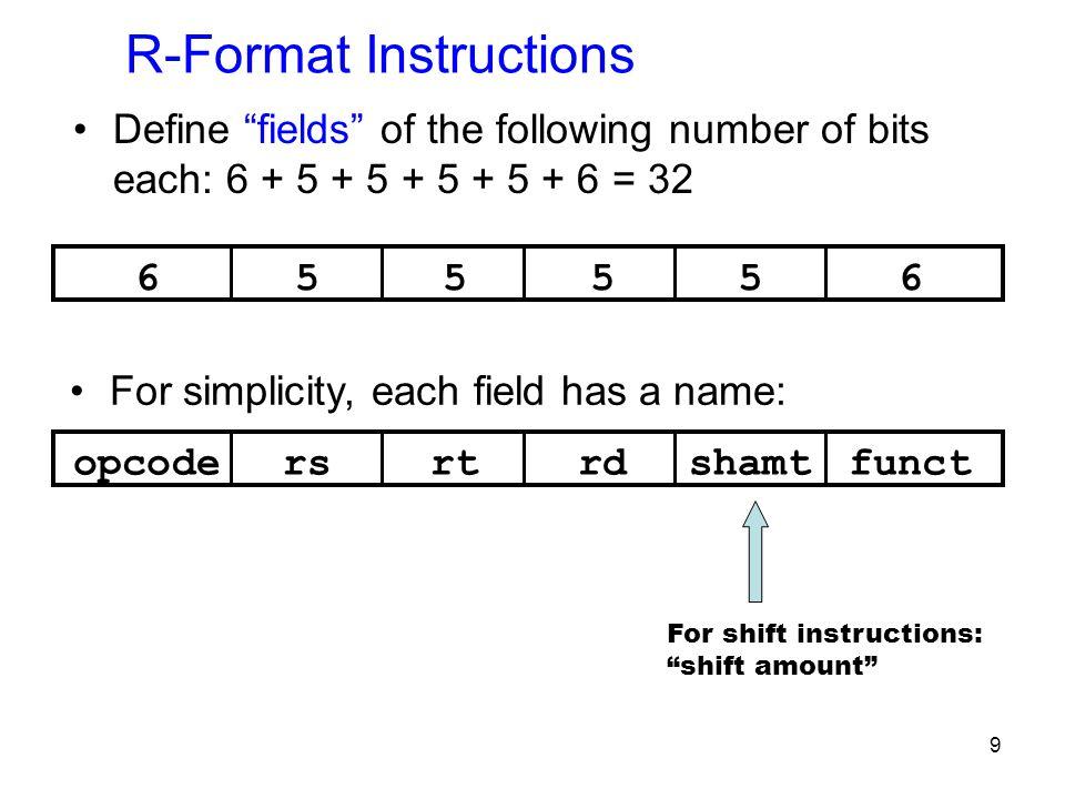 30.data # sample1.asm a:.word 3,4 c:.word 5,6.text la $t0,c # address of c la $t1,k # address of k lw $s0,0($t0) # load c[0] lw $s1,4($t1) # load k[1] slt $s3,$s0,$s1 # if c[0] < k[1], $s3 = 1, else $s3 = 0 beq $s3,$0,notless # if c[0] < k[1] swap their values sw $s0,4($t1) sw $s1,0($t0) notless:.data k:.word 0xf,0x11,0x12