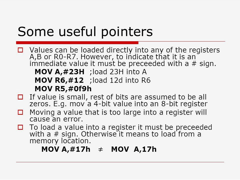Solution (a)MOVR3,#55 1x1.085μs (b)DECR3 1x1.085μs (c)DJNZR2,target 2x1.085μs (d)NOP 1x1.085μs (e)MULAB 4x1.085μs