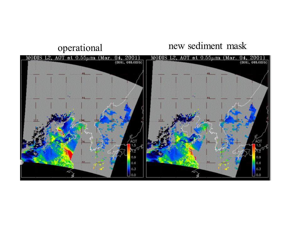operational new sediment mask