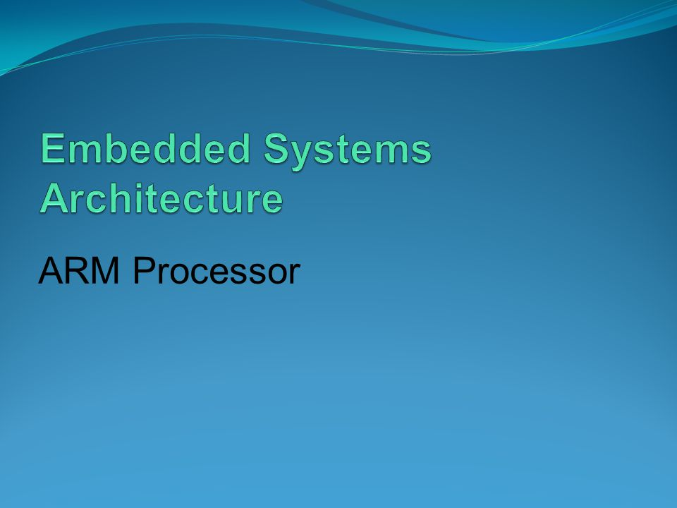 ARM data instructions Basic format: ADD r0,r1,r2 Computes r1+r2, stores in r0.