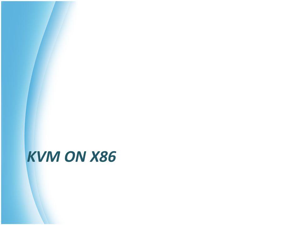 KVM ON X86