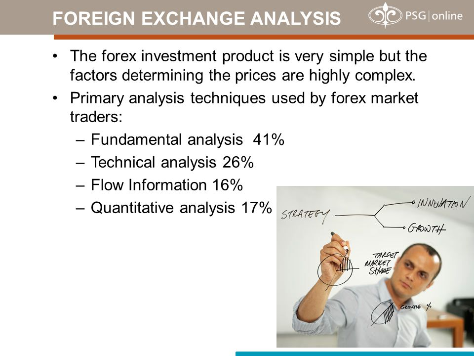 The forex investment product is very simple but the factors determining the prices are highly complex.