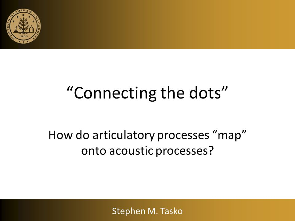 Learning Objectives Outline the key assumptions and parameters of the Stevens & House (SH) articulatory model of vowel production. Describe the acoust