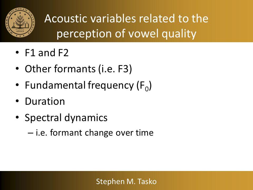 Clinical Example Stephen M. Tasko