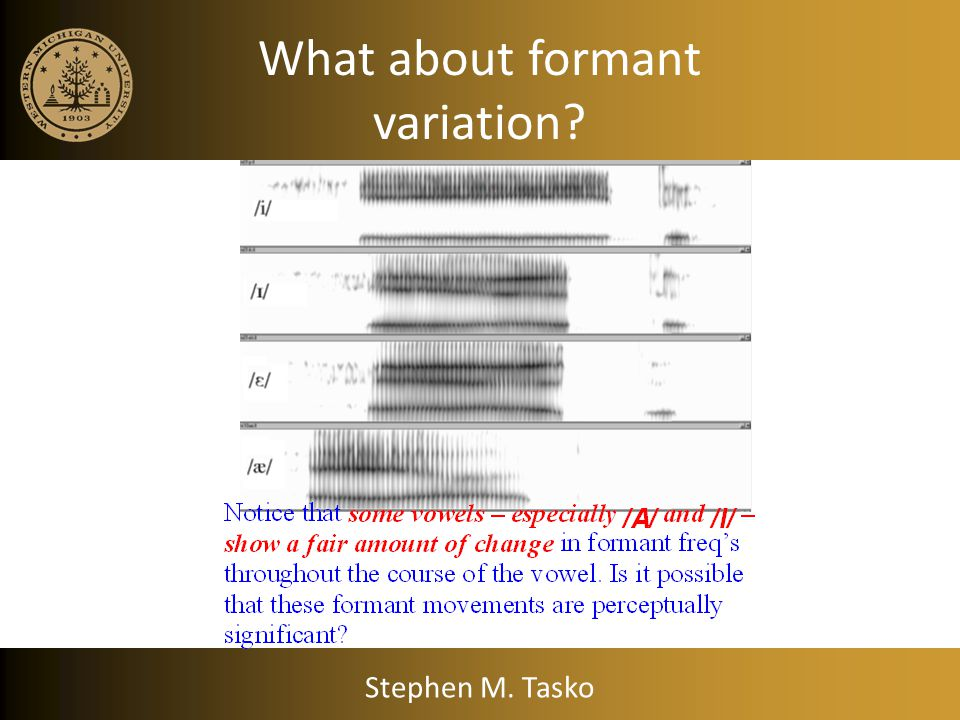 What about Duration? Some examples Stephen M. Tasko