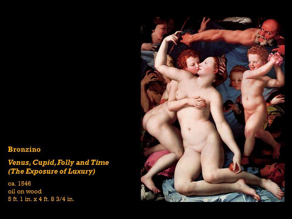 Bronzino Venus, Cupid, Folly and Time (The Exposure of Luxury) ca.