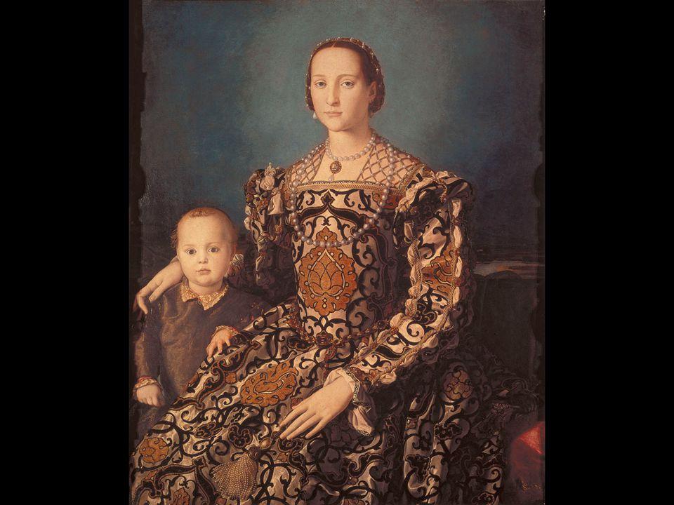 Agnolo Bronzino. Portrait of Eleanora of Toledo and Her Son Giovanni de' Medici. ca. 1550