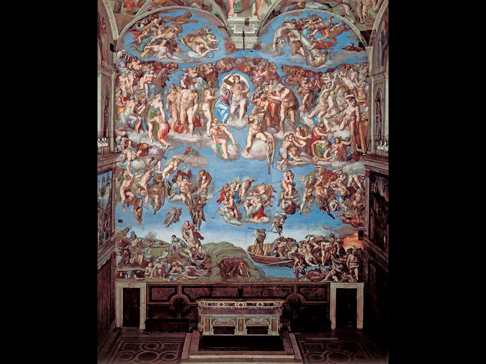 Michelangelo. The Last Judgment. 1534–41