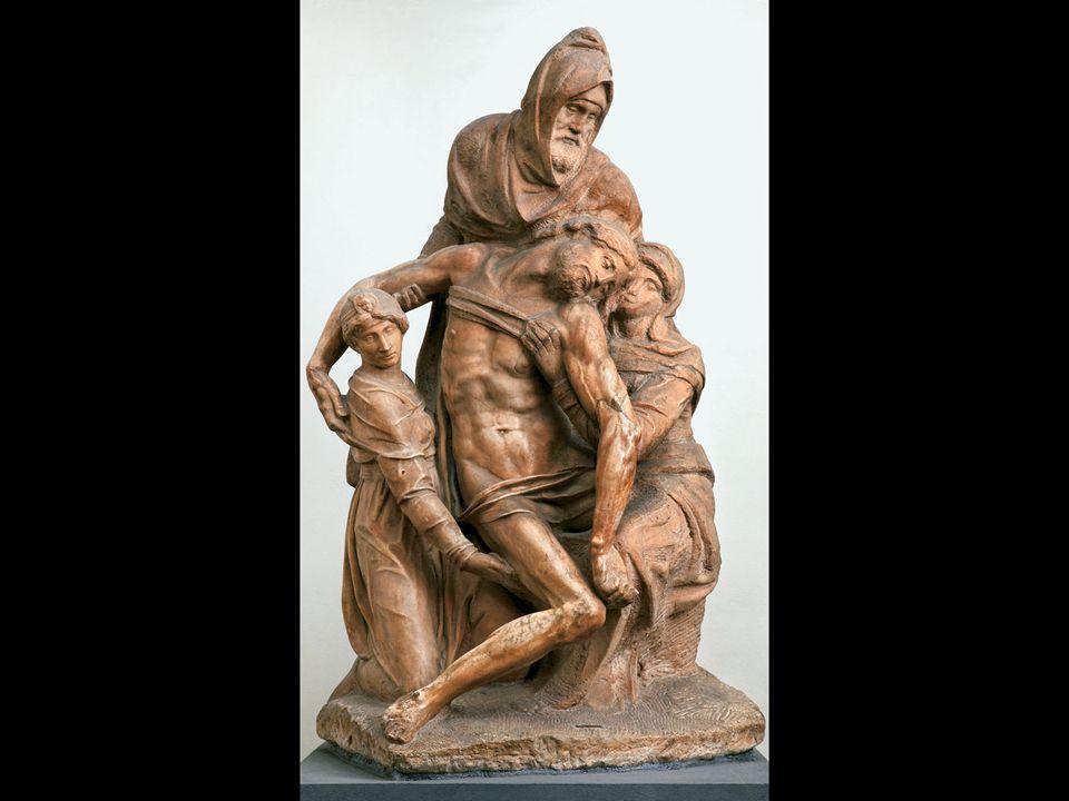 Michelangelo. Pietà. ca. 1546