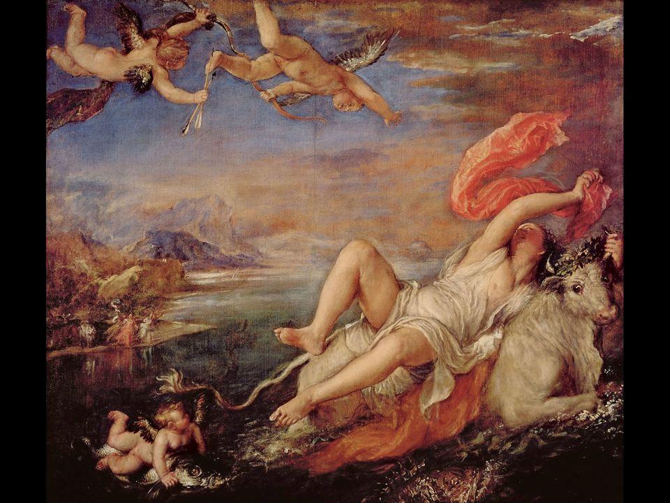 Titian. Rape of Europa. 1559–62