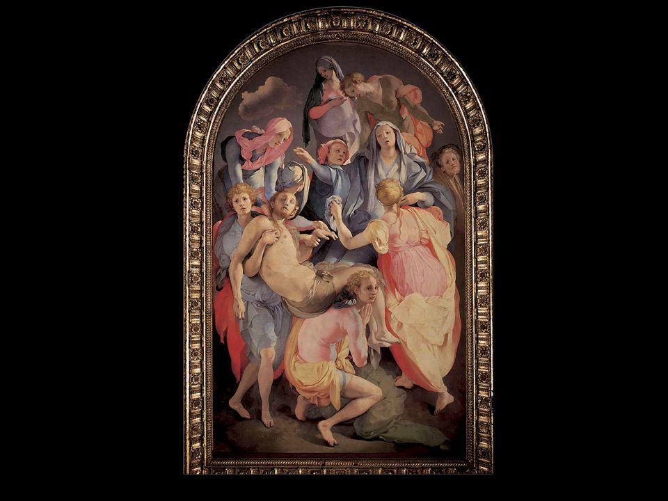 Jacopo da Pontormo. Pietà. ca. 1526–28