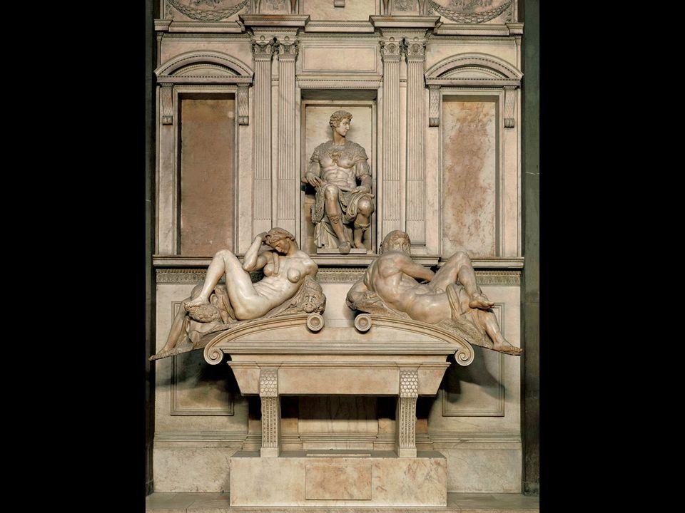 Michelangelo. Tomb of Giuliano de' Medici. New Sacristy, San Lorenzo Florence. 1519–34
