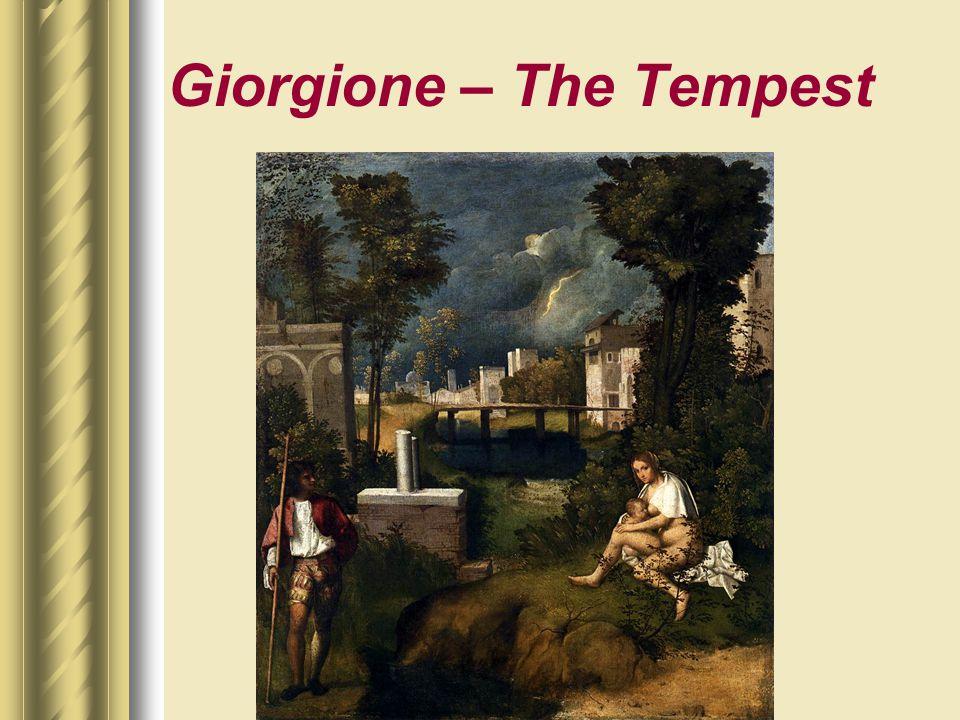 Giorgione – The Tempest