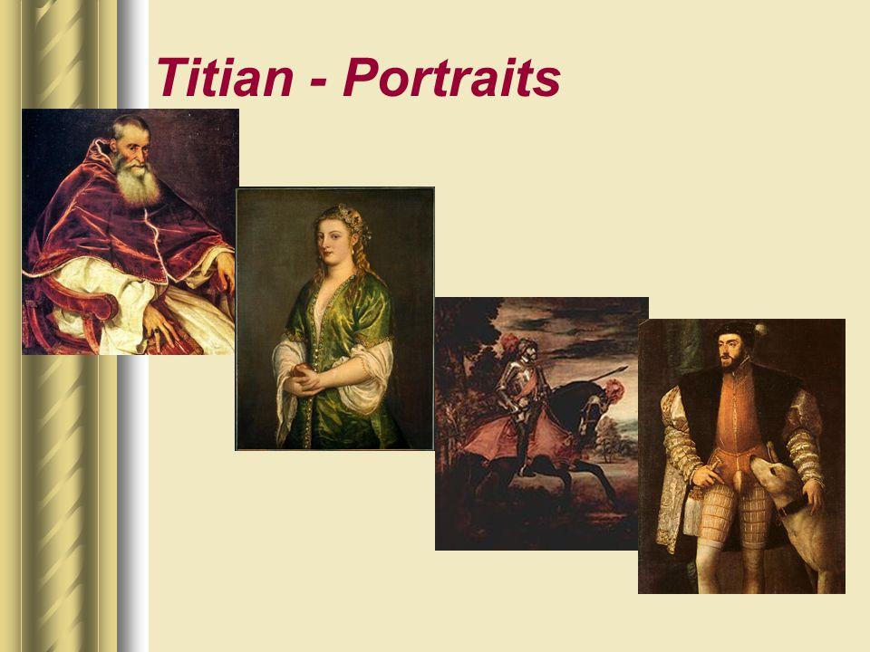 Titian - Portraits