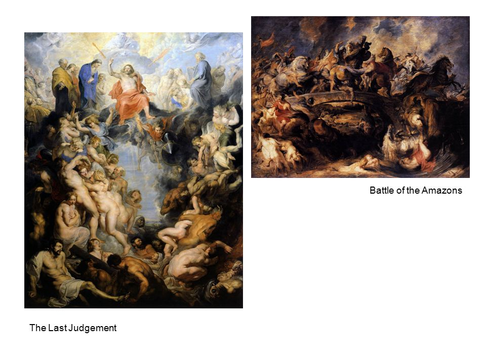 The Last Judgement Battle of the Amazons