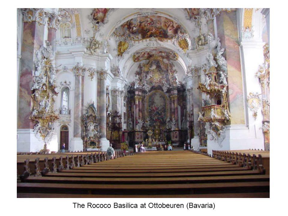 The Rococo Basilica at Ottobeuren (Bavaria)