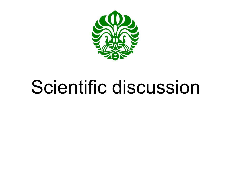 Scientific discussion
