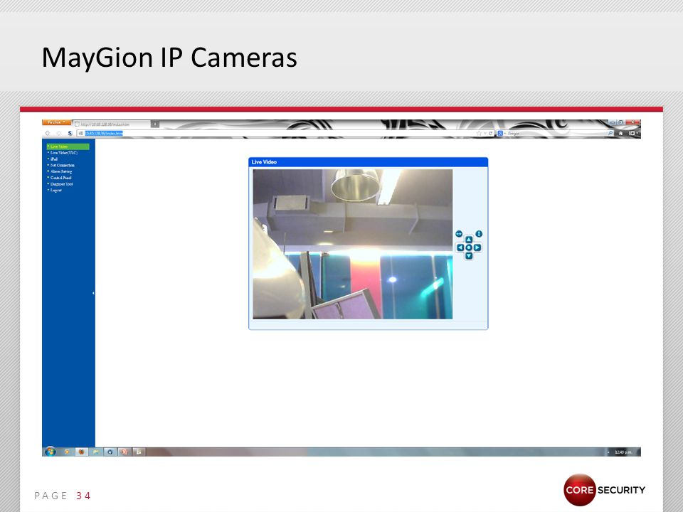 PAGE MayGion IP Cameras 34