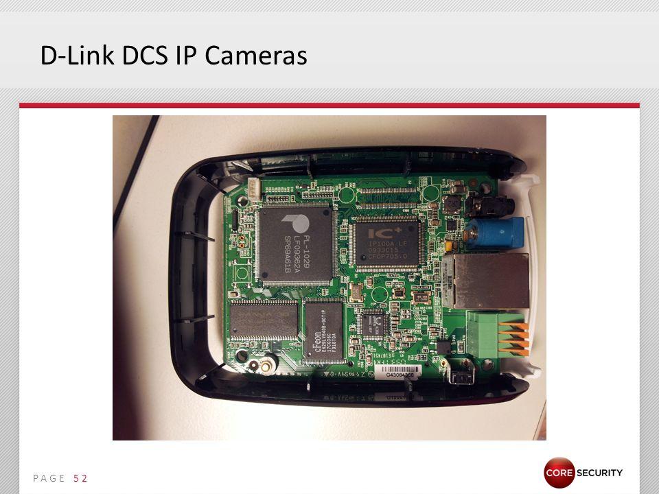 PAGE D-Link DCS IP Cameras 52