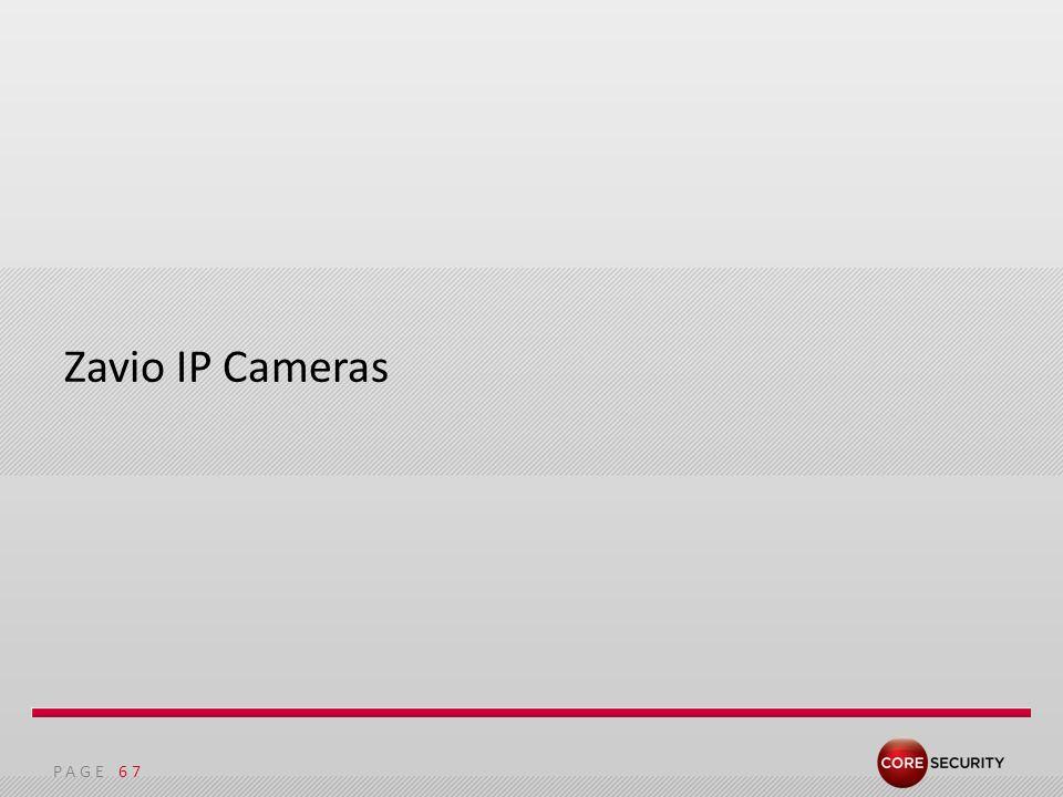 PAGE Zavio IP Cameras 67