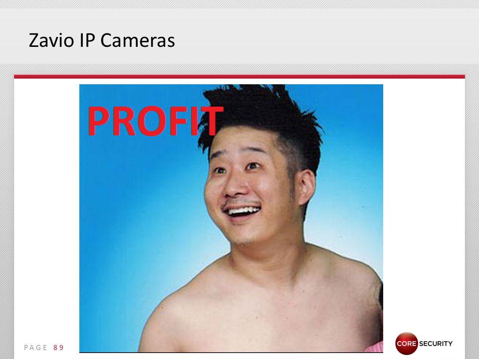 PAGE Zavio IP Cameras 89