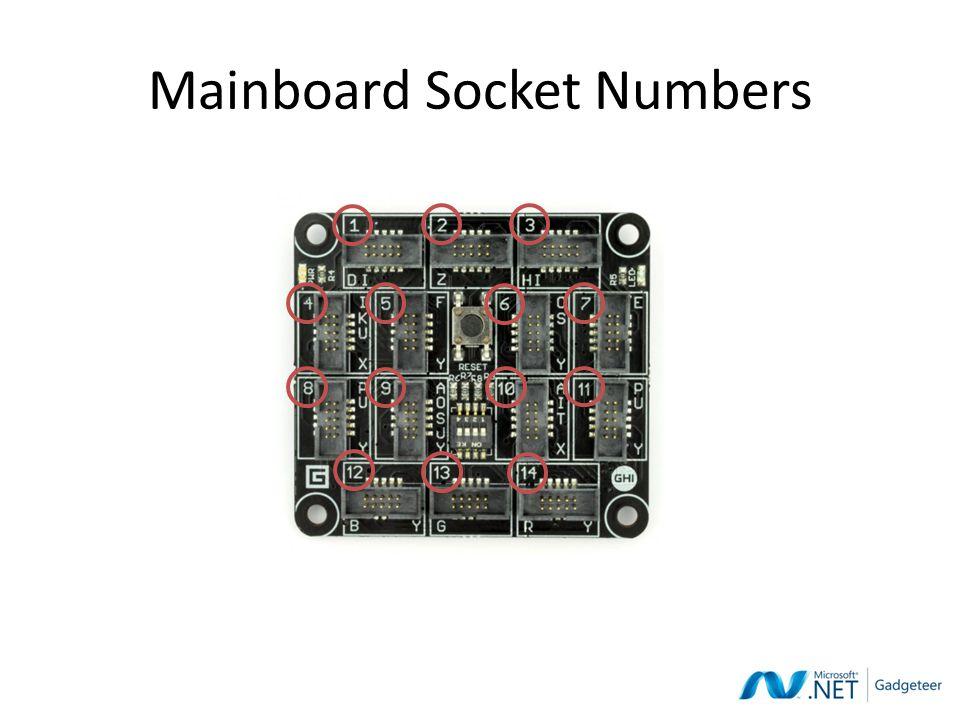 Mainboard Socket Numbers