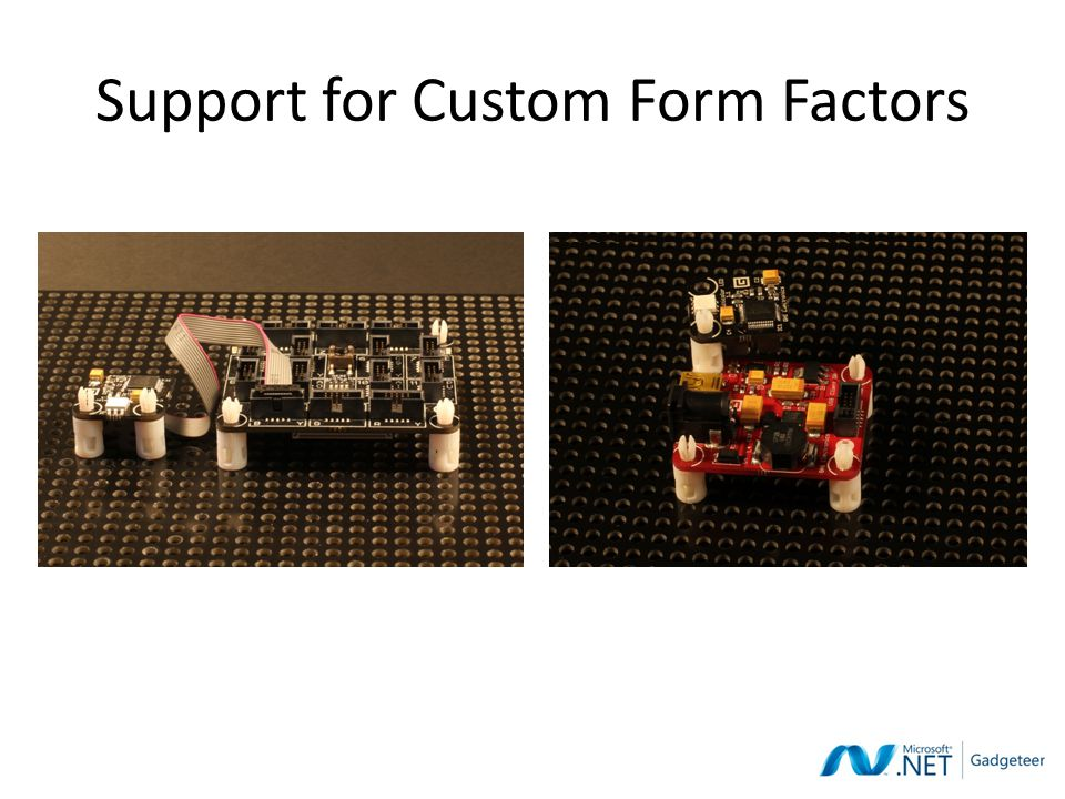 Support for Custom Form Factors