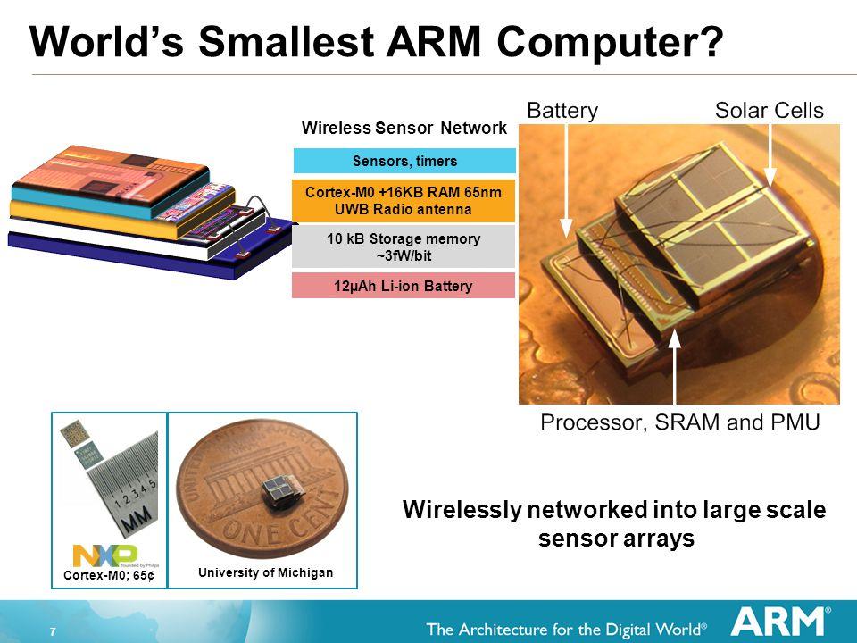 8 World's Largest ARM Computer.