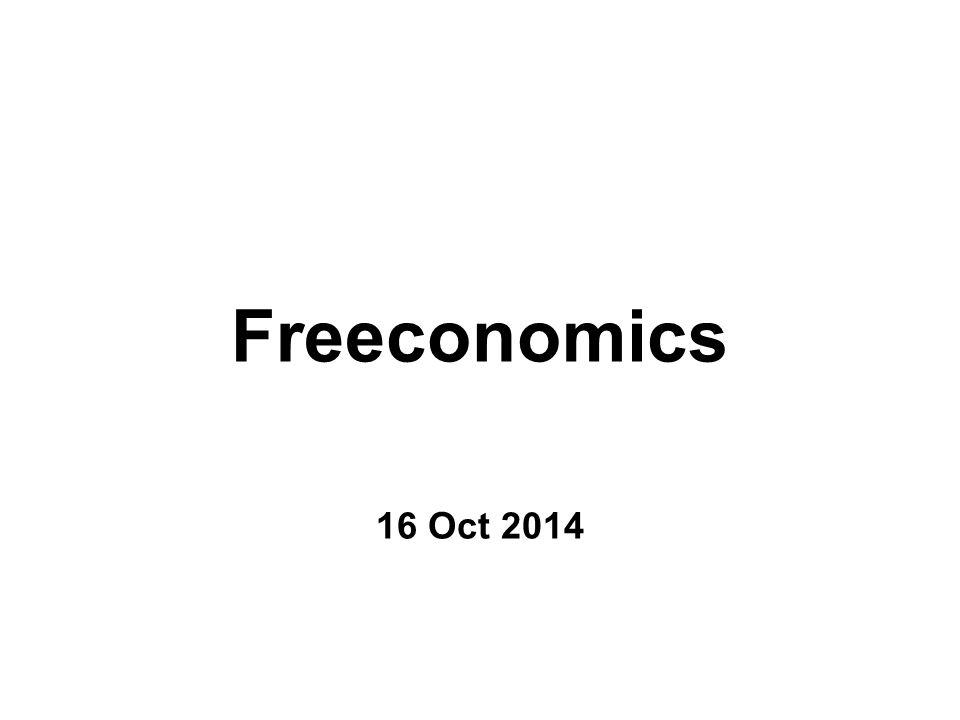 Freeconomics 16 Oct 2014