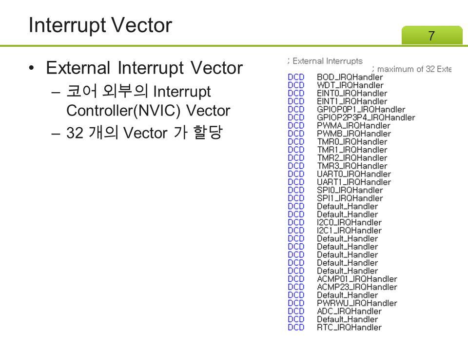 Interrupt Control Register 18