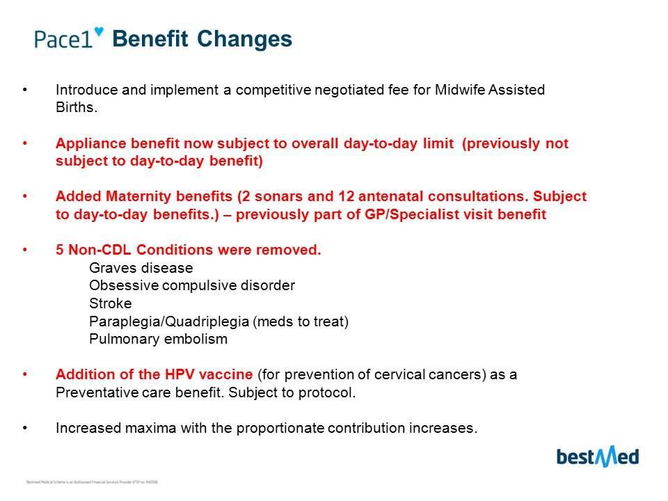Communication process re removed chronic conditions Members affected by the removal of the 5 conditions will receive separate communication during November and will be advised to upgrade to Beat4.