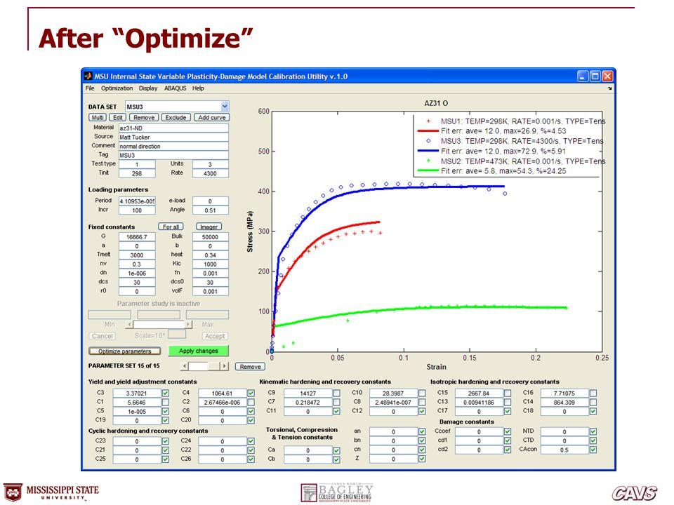 "After ""Optimize"""