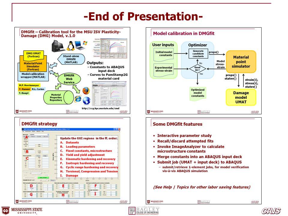 -End of Presentation-