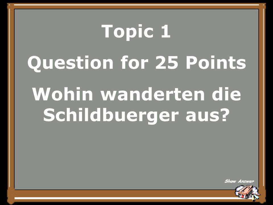 Topic 1 Answer for 20 Points Mit dem Boot Back to Board