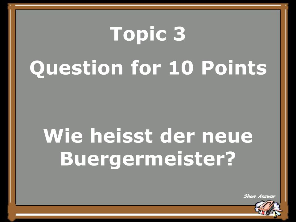 Topic 3 Answer for 5 Points When did the war begin Back to Board