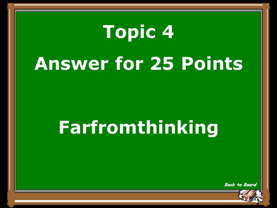 Topic 4 Question for 25 Points Wie heisst vier Schildbuerger in einem Volkswagen Show Answer