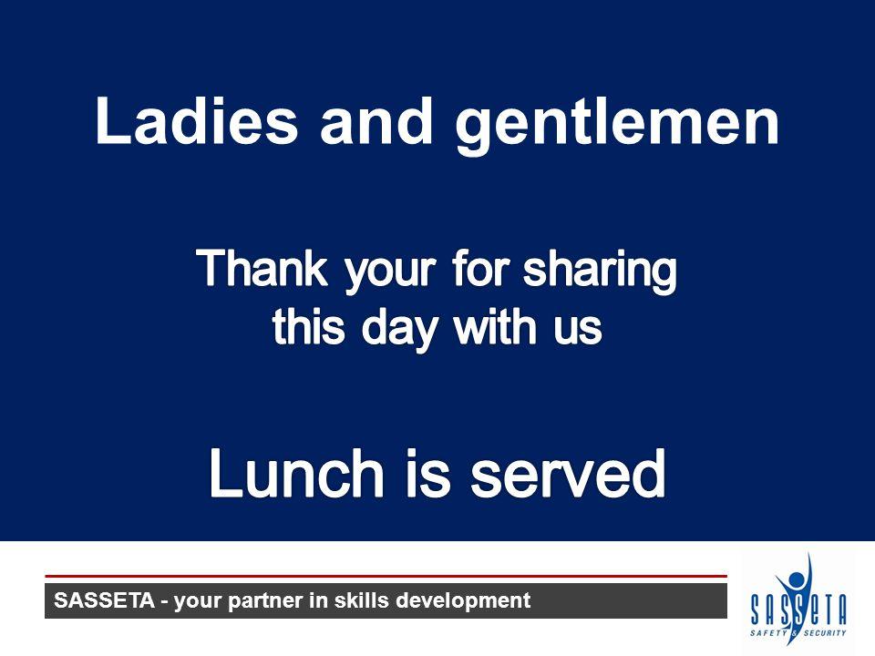 SASSETA - your partner in skills development