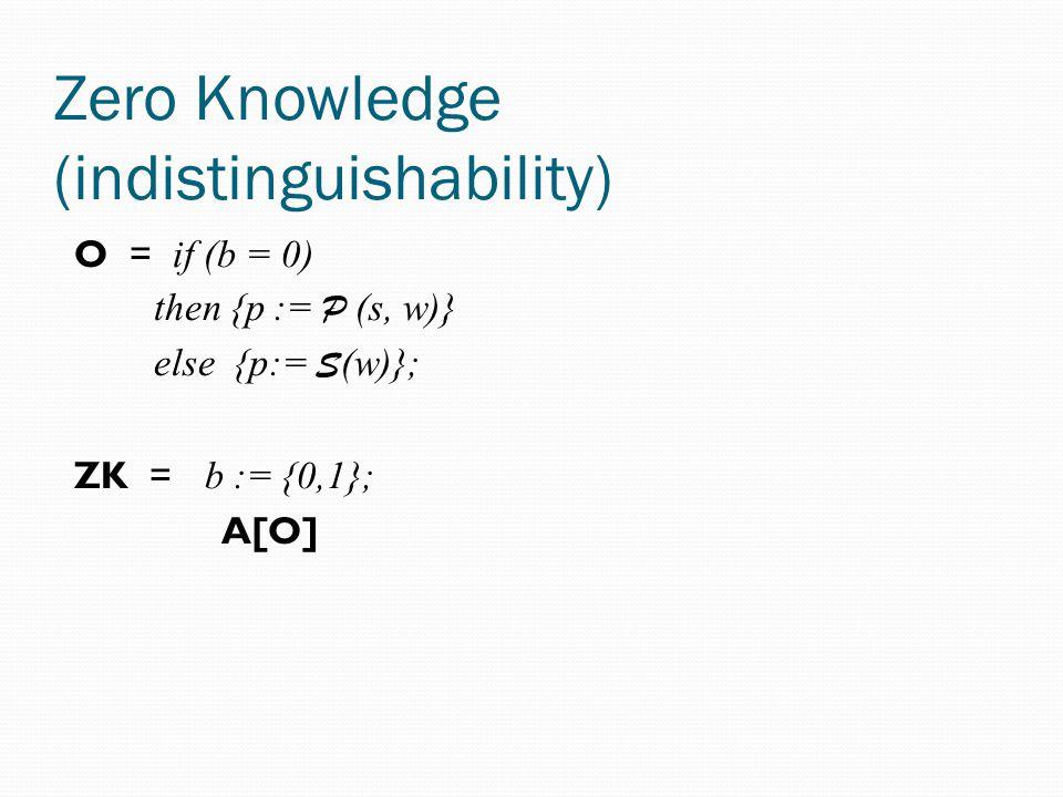 Example: A CCA1 scheme (Naor-Yung) We will define a CCA1 scheme It is based on a CPA scheme It is based on a ZK scheme (P, V, R, S) G ' ' ( ) = k0 e, k0 d := G ( ); k1 e, k1 d := G ( ) E '(x, (k0 e, k1 e )) = e0, e1 := E (x, k0 e ); E (x, k1 e ); p:= P (e0, e1, x); c:= e0,e1, p0,p1,p D ' ((e0,e1, p), (k0 e, k1 e )) = if V (e0, e1,,p) = true then x: = D (e1, k1 d )