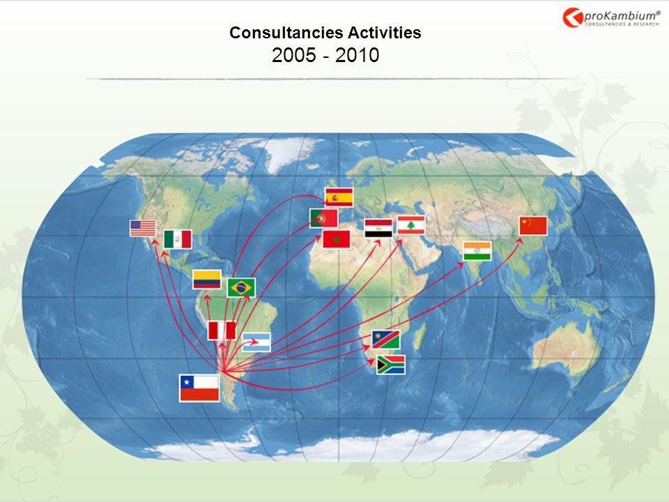 Consultancies Activities 2005 - 2010