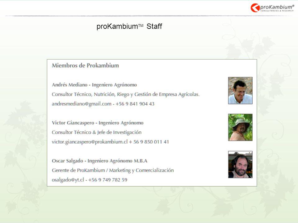 proKambium TM Staff