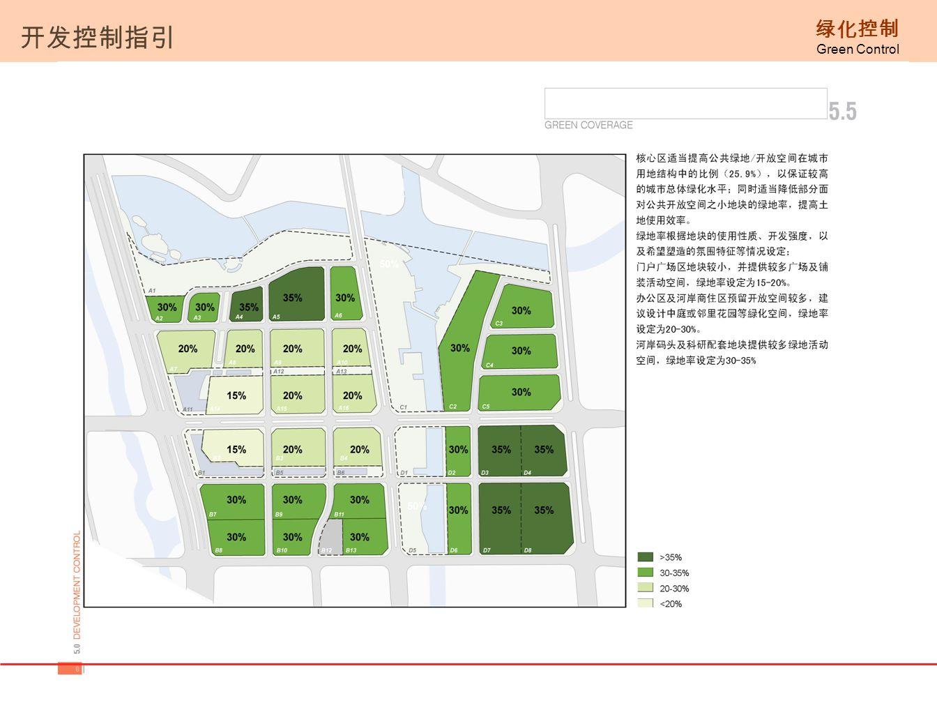 开发控制指引 绿化控制 Green Control