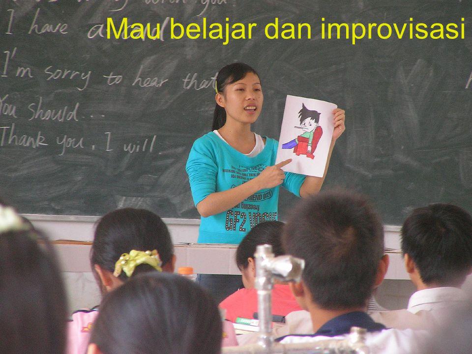 Mau belajar dan improvisasi
