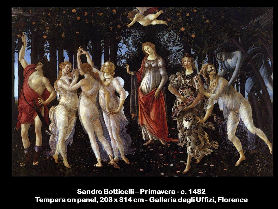 Sandro Botticelli – Primavera - c.