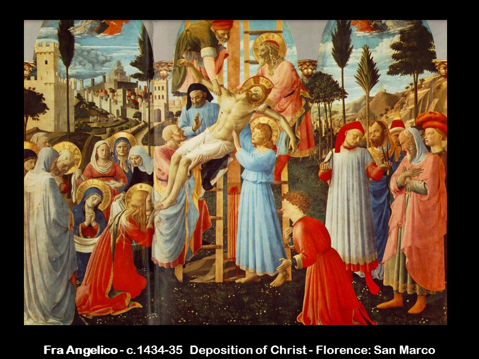 Fra Angelico - c.1434-35 Deposition of Christ - Florence: San Marco