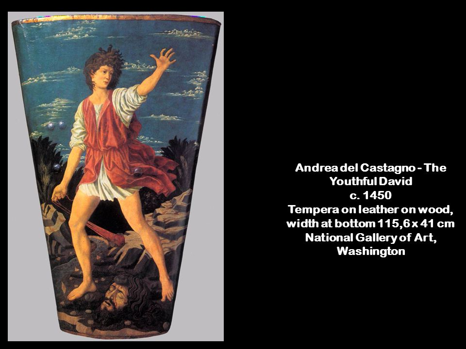 Andrea del Castagno - The Youthful David c.