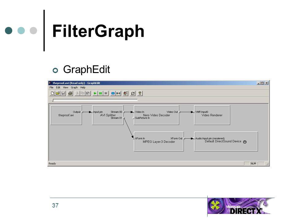 37 FilterGraph GraphEdit