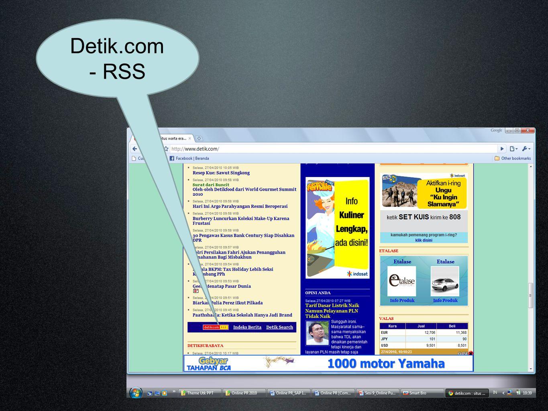 Detik.com - RSS