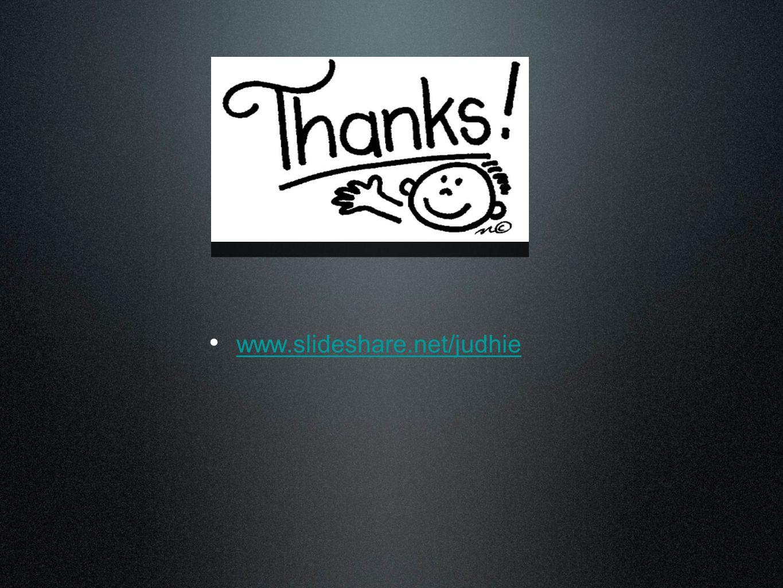 www.slideshare.net/judhie www.slideshare.net/judhie