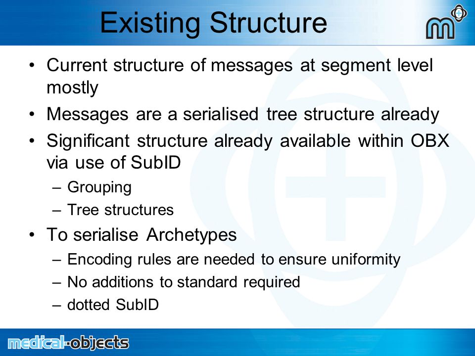 Dotted SubID – HL7 V2.3.1 manual